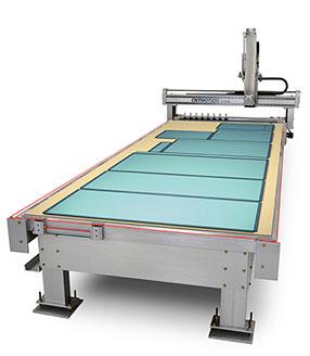 CNC ACM Panel Alucobond Machine